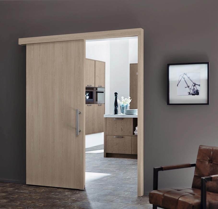 Die Zimmertür in neuem Look